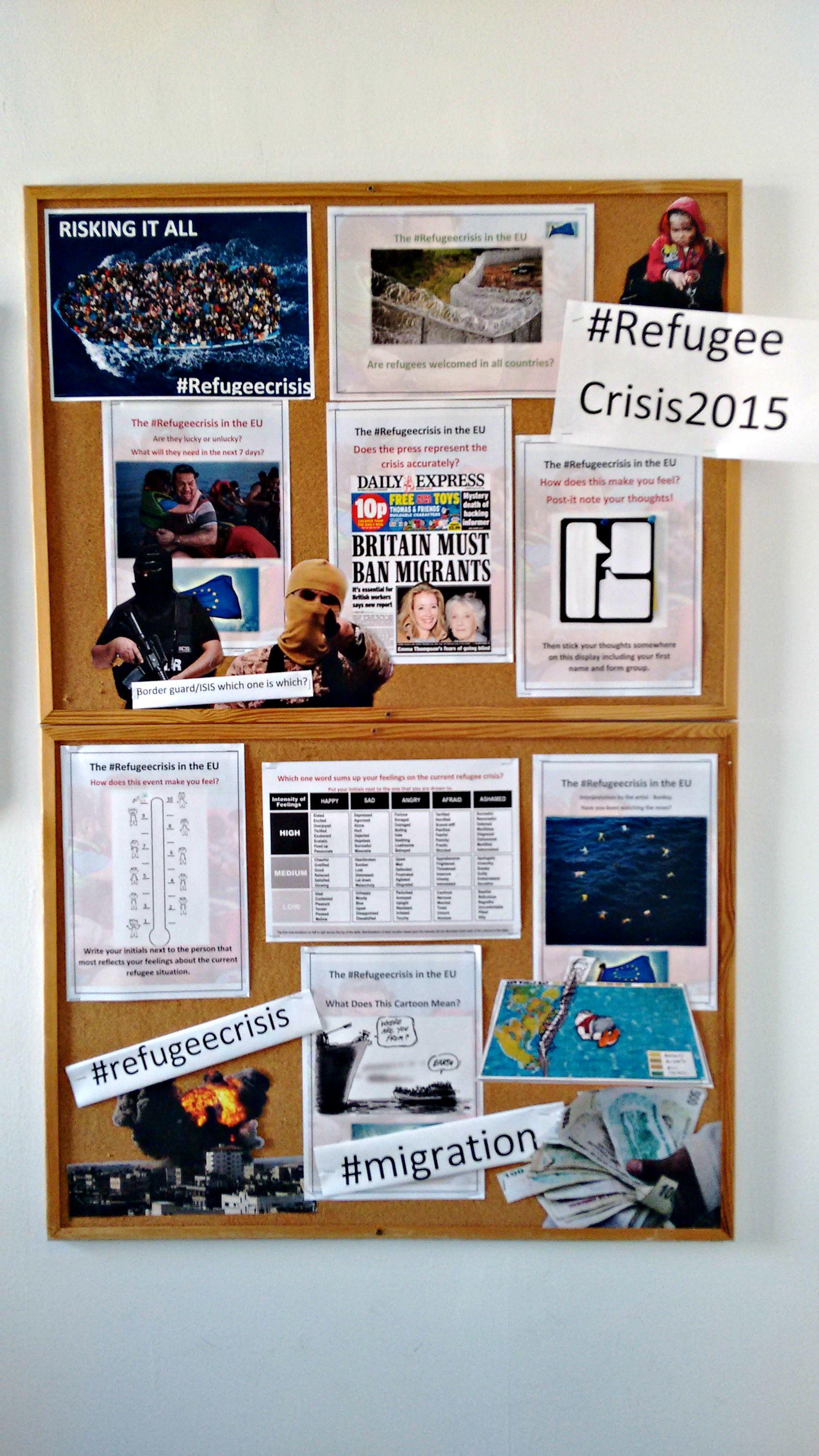 Poster design ks3 - Ks3 Students Explore The History Of The Refugee Crisis International British School Of Bucharest