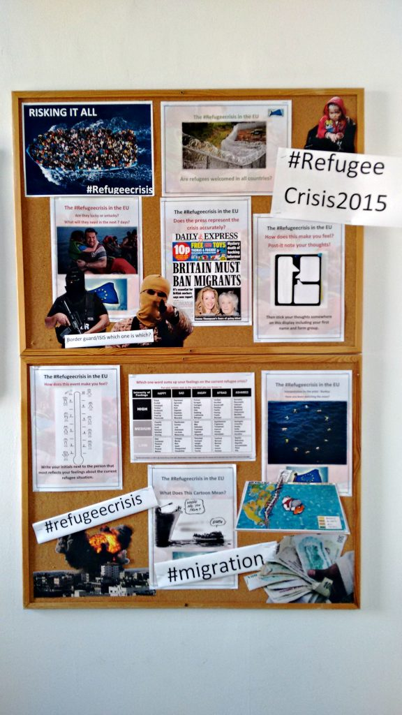 KS3 STUDENTS EXPLORE THE HISTORY OF THE REFUGEE CRISIS